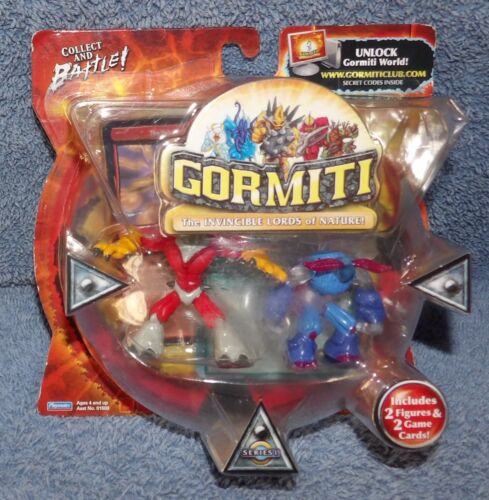 GORMITI SERIES 1 THE THOUGHTCATCHER /& THE MAGIC LOOKOUT