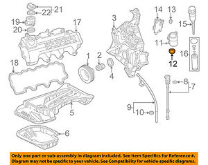 MERCEDES OEM 98-03 ML320 3.2L-V6 ENGINE-Oil Filter Housing Seal ...