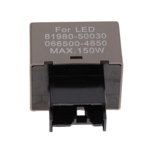 81980 50030 LED Blinkrelais Blinker Blinkfix Anti  für Toyota