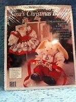 Daisy Kingdom nina's Christmas Bunny Dolll Kit 9835