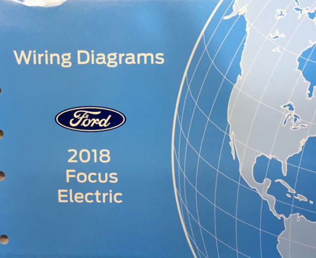 2018 Ford Focus Electric Wiring Electrical Diagram Manual