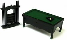 Miniature Pool Table wi Access Mahogany #T3476 Town Square 1//12th