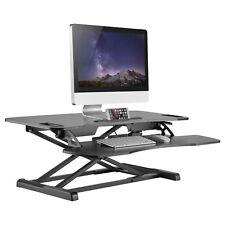 Ergonomic Height Adjule Sit Stand Desk Worke Workstation Computer Riser