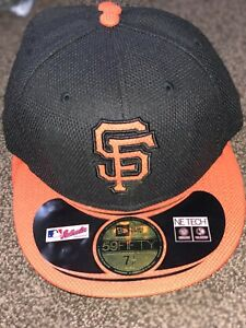 best sneakers 25caf 5f2f5 Image is loading NEW-ERA-SAN-FRANCISCO-GIANTS-Fitted-Hat-Cap-