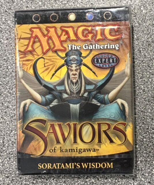 Magic The Gathering saviors Of Kamigawa Soratami/'s Wisdom Deck MTG CCG TCG