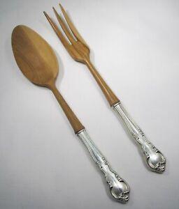 Pequeña cuchara de madera encanto plata esterlina .925 X 1 Dijes de cocción ECMJ 9903