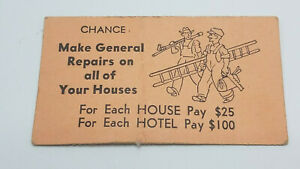 Vintage-Monopoly-PRE-1936-Chance-Card-Original-Graphics-and-Text-Only