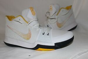 separation shoes fa286 856ba Image is loading Men-s-Nike-Kyrie-III-N7-Varsity-Maize-