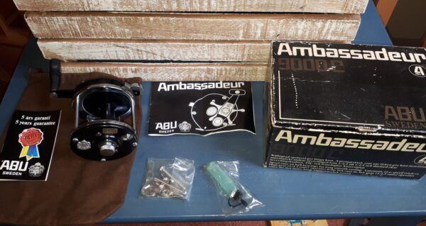 Abu Ambassadeur 9000c No 791200 Two Speed Essere Distribuiti In Tutto Il Mondo