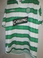 "Celtic 2003-2004 Home Football Shirt Size Medium 38""-40"" trikot /21854"