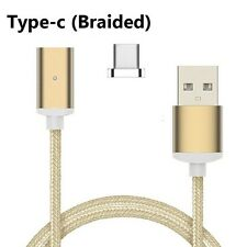 Magnetic USB 3.1 Type C Data Sync Fast Charging Cable Charger for Samsung S8 / +