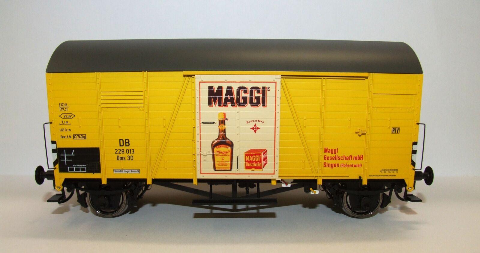 Brawa 37351 Escala 0 Vagón de Mercancía Oppeln Gms30 DB, III, Maggi