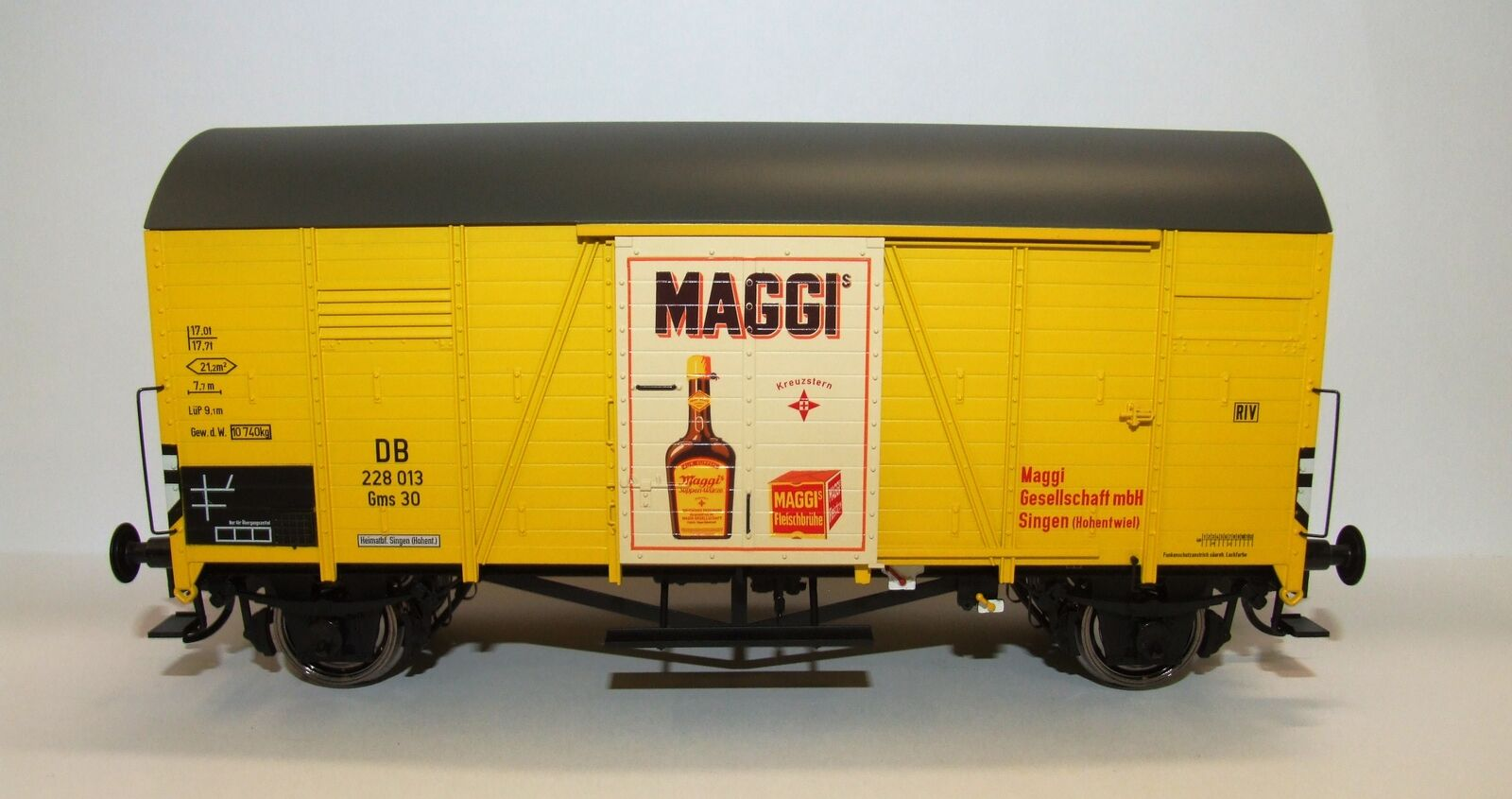 BRAWA 37351 Spur  0 Güterwagen Oppeln Gms30 DB, III, Maggi