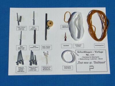 Bastel Schwibbogenlaubsägevorlage Nr.115 Luxus + Verantwortlich Zusatz Set A Für Die Regu