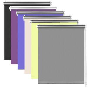 thermorollo verdunkelungsrollo klemmfix ohne bohren klemmrollo seitenzug rollos ebay. Black Bedroom Furniture Sets. Home Design Ideas
