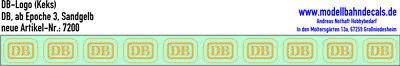 Fashion Style 10 H0 Decals Db Logo 4,6 X 3,25 Mm Giallo Sabbia, Biscotto Top Nuovo Decals 087-7200-mostra Il Titolo Originale Carattere Aromatico E Gusto Gradevole