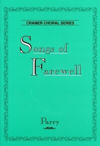 Satb Imported From Abroad Parry Songs Of Farewell 6 Motets