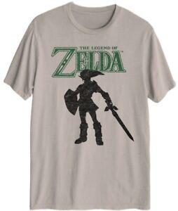 Legend-of-Zelda-Mens-Graphic-T-Shirt-Size-Large
