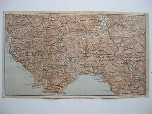 Maratea Sulla Cartina Geografica.Stampa Antica Mappa Campania Basilicata Lagonegro Maratea Camerota Vallo 1928 Ebay