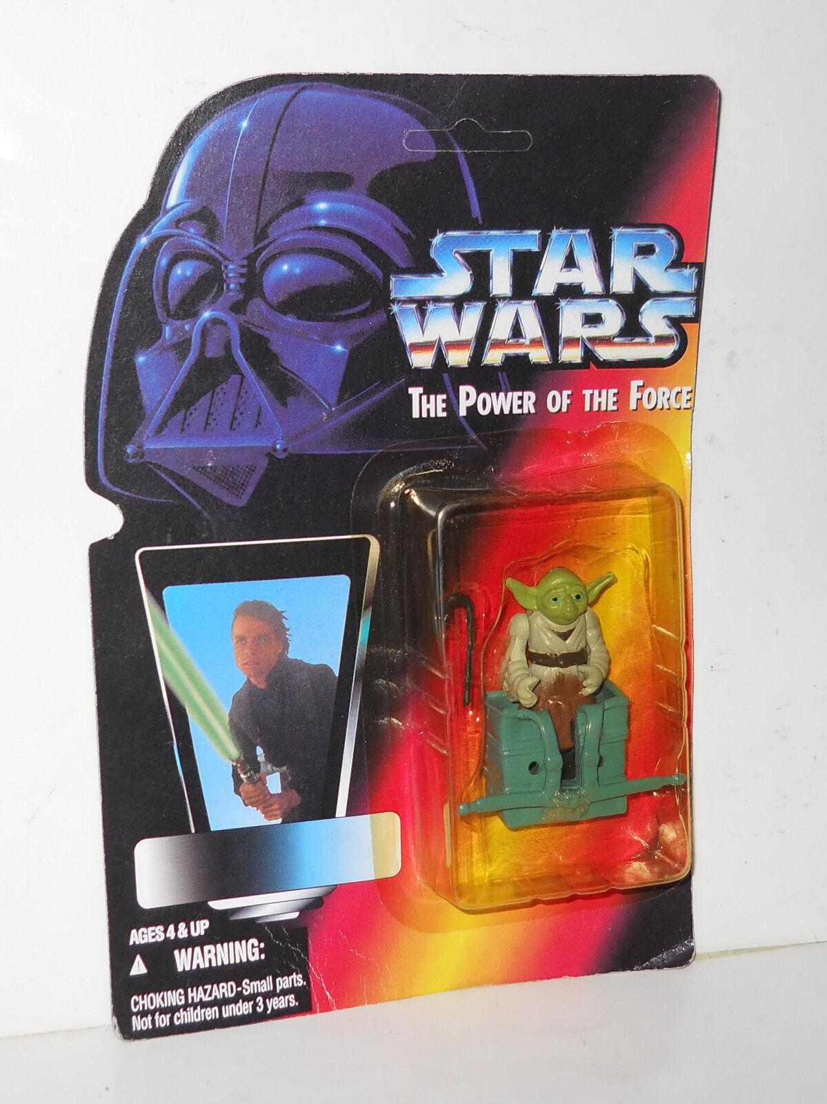 Figura De Estrella Wars Yoda botaleg Variante Rara menta en tarjeta ENLOMADOR Raro