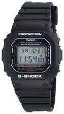 Casio G-Shock Men's Quartz Digital Black Resin Sport 47mm Watch DW5600E-1V