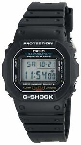 Casio-G-Shock-Men-039-s-Quartz-Digital-Black-Resin-Sport-47mm-Watch-DW5600E-1V