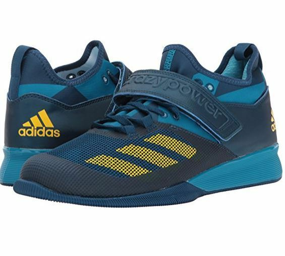 Adidas Crazy Power Sz US 14 M Blue Mesh & $175.00 Synthetic Sneakers Mens Shoes $175.00 & 80ebdc