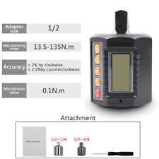 12 14 38 Adjustable Digital Torque Wrench Adapter Micro Meter 9954ftlb