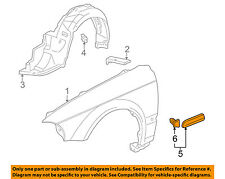 HONDA OEM 12-15 Crosstour Fender-Upper Trim Right 74206TP6A00