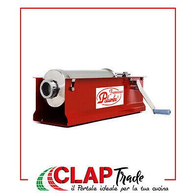 Capacità 5 Kg Insaccatrice manuale da tavolo rossa Palumbo Pavi 2 velocità