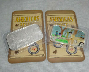Set-Of-2-Americas-Most-Wanted-AMW-CMG-Silver-999-Art-Bar-CMG-BL-8