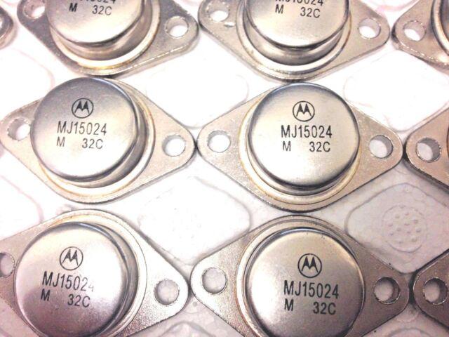 RCA 40411 = MJ802 Motorola General Purpous Power TRANSISTOR 90V 30A 150W