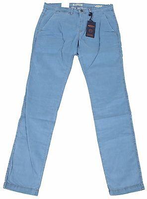 Mac Jeans Selected Tapered Chino Pantaloni Uomo Men Pants W33 L34 Satin Stretch-mostra Il Titolo Originale