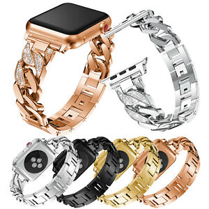 b5cb02cd060a Image is loading Luxury-Rhinestones-Bracelet-Band-For-Apple-Watch-Series-