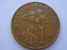 1990 Malaysia Keris $1 Coin