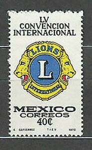 Mexico - Mail 1972 Yvert 781 MNH Lions