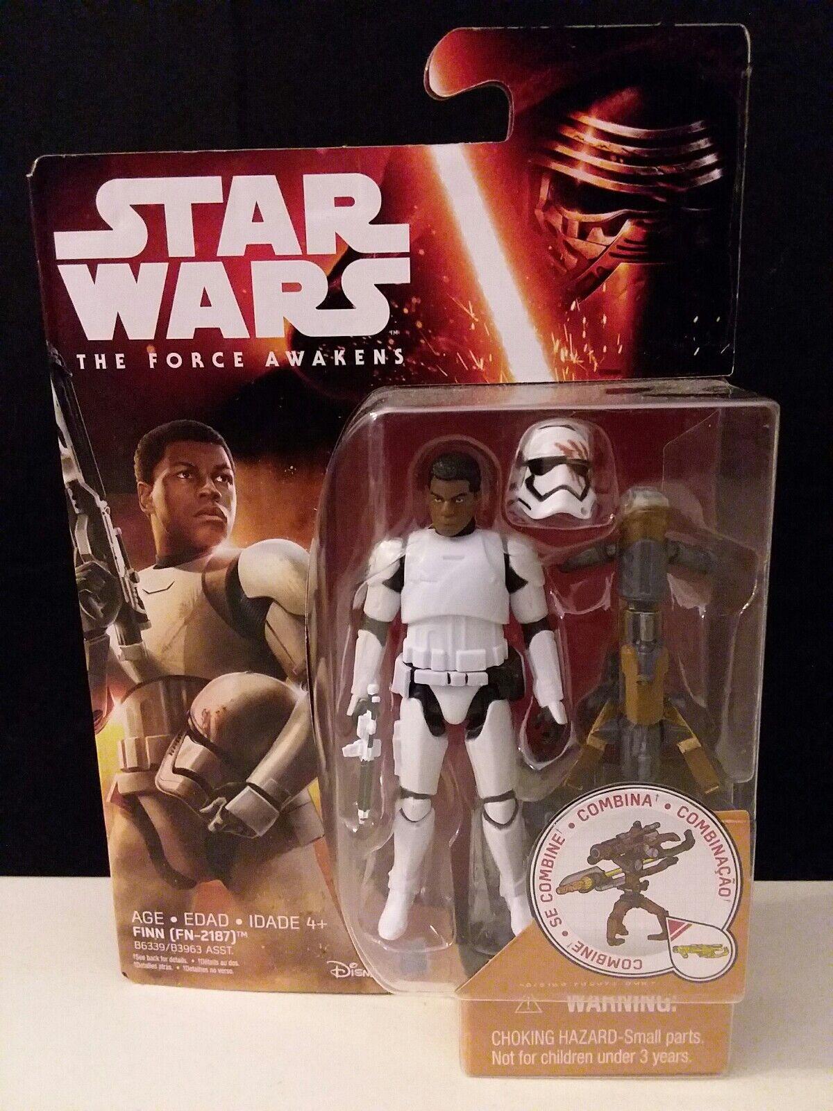 Star Wars The Force Awakens FINN FN-2187 3.75in New 2015