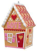 Hallmark 2016 Love Shack Gingerbread House Christmas Ornament