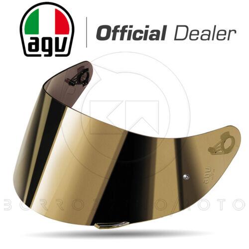 VISIERA AGV GT2-1 AS IRIDE ORO SPECCHIO PINLOCK READY ANTIGRAFFIO CASCO K3 SV S