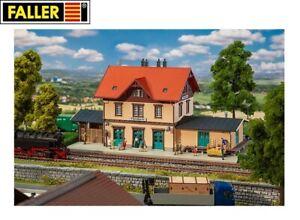Faller-H0-191742-Bahnhof-Ochsenhausen-NEU-OVP