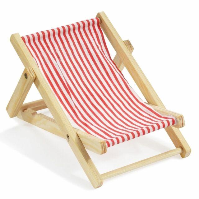 Liegestuhl Strandliege Maritim Deko Figur Urlaub Strand Reise Geldgeschenk Holz