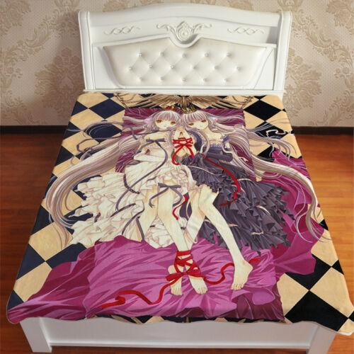Neu Anime Manga Chobits Chii Kuscheldecke Wohndecke Sofadecke Decke blanket A2