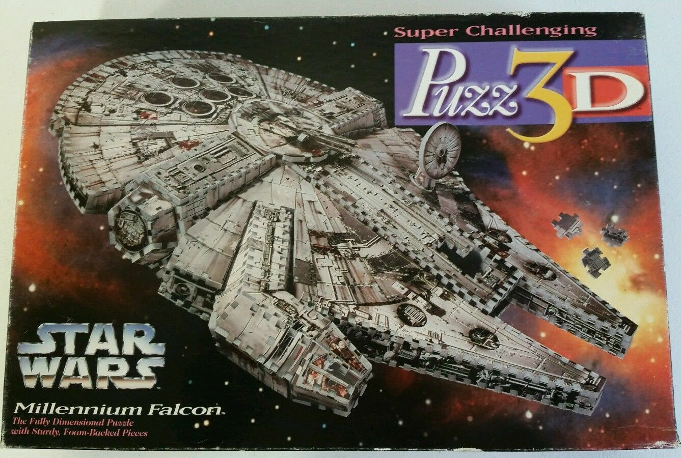 Wrebbit Puzz 3D Puzzle Foam - Star Wars Millenium Falcon - Nuovo Sealed Collect