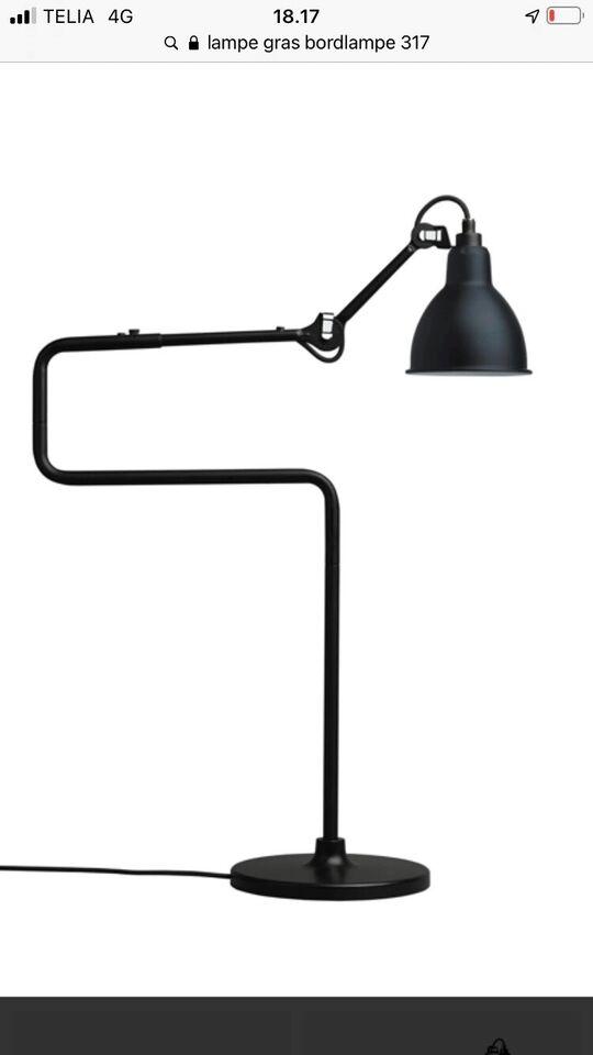 Anden arkitekt, Lampe Gras 317, bordlampe