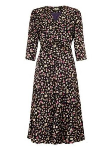 In Print trudi Dress Size 00 94 12 Chinaberry H Ppr£159 XwvqBtxP5n
