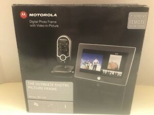 Motorola Mfv700 7 Digital Picture Frame Video In Picture Baby