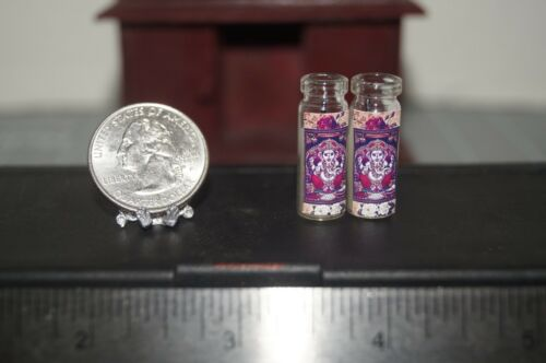 GANESH Lot x2 Miniature Dollhouse Prayer Temple Altar Candle Hindu GANAPATI God
