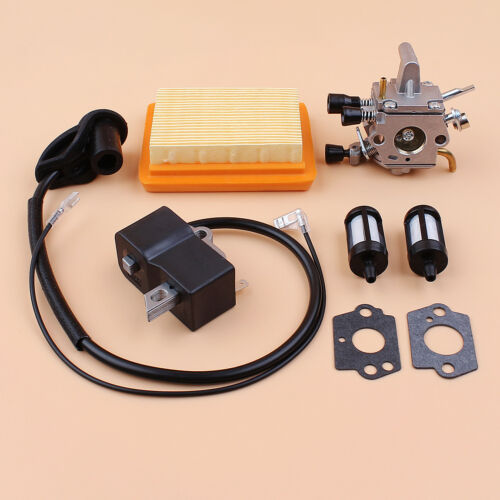 Carburateur Bobine Air Filtre à Carburant Kit Pour Stihl FS120 FS200 FS250 FS300 FS350 R