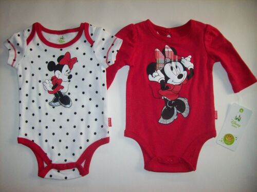 Style  NWOT Minnie Mouse Bodysuits 1pc Select Long-Sleeve Short-Sleeve