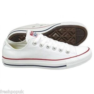 Original-Adult-Canvas-Converse-Shoes-All-Star-Optical-White-Ox-Unisex-UK-3-to-11